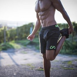 Mens sliM workout shorts online shopping - Men Shorts Mens Slim Fit Short Trousers Fitness Bodybuilding Jogger Mens Brand Durable Sweatpants Fitness Workout Cotton Shorts