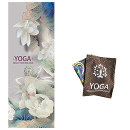 2e36dde92 Non Slip Yoga Blankets Women Fashion Fitness Goods Towels Widen Printing  Lotus Leaf Elephant New Designer Mat 39lm Ww