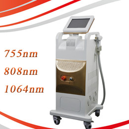 Discount laser for hair - aesthetic diode laser 808 755 1064 3 wavelength diode laser for home use 808nm diode laser hair removal machine
