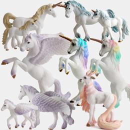 $enCountryForm.capitalKeyWord NZ - 2018 new arrival Unicorn doll toy simulation mini animal model unicorn dolls European mythology legend God beast retail wholesale