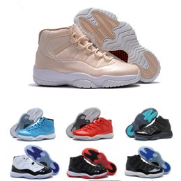 basketball shoes for cheap Canada - (With Box) Black Gym Red 11 Basketball Shoes for men women kids,us5.5-13 11s athletic shoes cheap kids sneakers