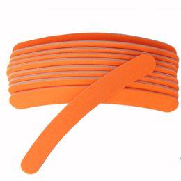 $enCountryForm.capitalKeyWord UK - emery board Orange Bend Nail File Emery Board Sandpaper 100 180 Professional Sanding Nails Art Manicure Tools New Hot 5pcs Fluorescent