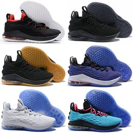 best service 6115f df17c 2018 new  23 XV 15 Low Star Wolf Grey Men s Sports Basketball Shoes for  High quality Designer 15s Zapatilla Training Sneakers US 40-46