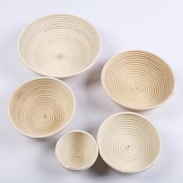 Retro Circular Multi Size Rattan Basket European Style Cute Proofing Proving Bread Dough Baskets Weave Technology Design Bowl New 25xx7 Z & New Eco Friendly Technology NZ | Buy New New Eco Friendly Technology ...