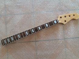 bass frets 2019 - Guitar bass Neck maple 5 string 20 fret rosewood fingerboard Replacement