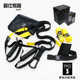 band belts 2019 - Resistance Bands Hangin Sport Gym Workout Fitness Suspension Exercise Pull Rope Straps Trainer Belt For Adults discount
