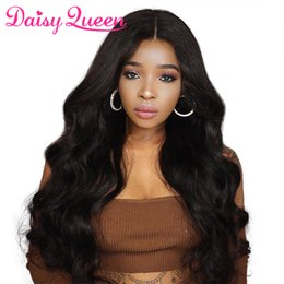 Virgin Brazilian Human Hair Wigs Australia - Body Wave Lace Front Human Hair Wigs For Black Women Pre-Plucked With Baby Hair Grade 8A Brazilian Virgin Hair Lace Wigs 8-26 Inch