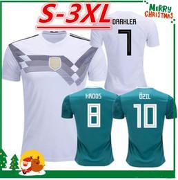 b3d0093c9 2018 2019 Germany World Cup Home Away Soccer Jersey REUS MULLER soccer  shirt Draxler GOTZE OZIL KROOS BOATEN GUNDOGAN Football uniforms