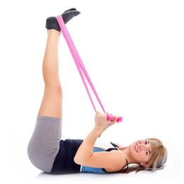 $enCountryForm.capitalKeyWord NZ - 1.2m NEW Elastic Yoga Pilates TPR Rubber Stretch Exercise Band Arm Back Leg Workout Fitness