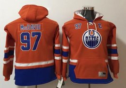 $enCountryForm.capitalKeyWord NZ - Kids New Edmonton Oilers #97 Connor McDavid Vintage Ice Hockey Shirts Uniforms Sweaters Hoodies Stitched Embroidery Sports Team Jerseys