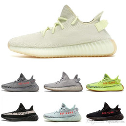 uk availability f172a d6bfe Adidas Yeezy boost supreme off white Vapormax 350 V2 Boost Butter Beluga  2.0 Zapatos para correr Semicongelados Yebra Cream White Zebra Hombres  Mujeres ...