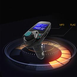 free mp3 music 2019 - Kebidumei T11 Bluetooth FM Transmitter Undamaged Music Car MP3 Player Car Kit Hands Free Handsfree Receiver 5V Dual USB