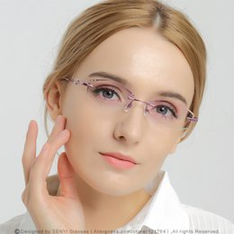 7d7379a33e rhinestone eyeglass frames 2019 - Elegant Rhinestone Eyeglass Frames For Women  Prescription Glasses Myopic Presbyopic Female