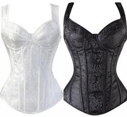 321ef1c1b3 Tummy Shaper Waist Underwear Sexy Women s Waist Training Shaper Steel Boned  Overbust Corset Bustier Top Black CPA1377