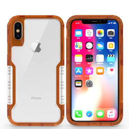 $enCountryForm.capitalKeyWord NZ - Case For Iphone X 10 8 7 Plus Clear Hybrid Soft TPU Hard PC Back Cover Defender Case with OPP Pack
