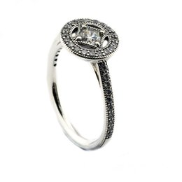 $enCountryForm.capitalKeyWord UK - Compatible with Pandora jewelry ring silver Vintage Allure Clear CZ rings 100% 925 sterling silver jewelry wholesale DIY For Women