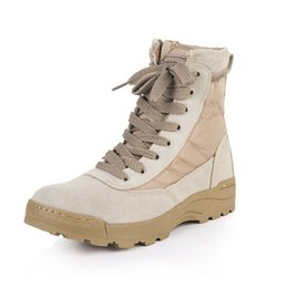 $enCountryForm.capitalKeyWord UK - Men Women Military Tactical Boots Outdoor Tactical Mountain Trekking Boots Combat Non-Slip Shock Absorption Boots