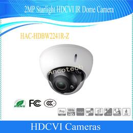 $enCountryForm.capitalKeyWord NZ - Free Shipping DAHUA Original Security CCTV Camera 2MP 1080P WDR IR HDCVI Dome Camera IP67 IK10 Without Logo HAC-HDBW2241R-Z