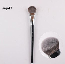 Hair angles online shopping - dhl shipping Top Quality Angled Pro Foundation Brush Highlight Beauty Cosmetics Makeup Brushs