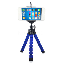 octopus tripod stand phone holder NZ - Flexible Octopus Tripod Bracket Stand Mount High Quality Camera Phone Holder For Mobile Phones Mini DV