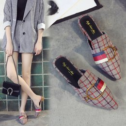footlocker pictures sale online wholesale price cheap online Cool towing female summer 2018 new 100 take a Korean version of rivet water drill word drag lazy person shoe slipper female summer fashion w outlet for sale cheap sale best store to get XXn9C