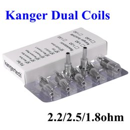 $enCountryForm.capitalKeyWord UK - Kanger Dual Coil Upgraded Kanger Dual Coils Mini Head for Kanger Protank 3 Aerotank Mega Aerotank Mini Aerotank EVOD 2 Clearomizers Free