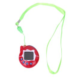 Wholesale 1 Set Cartoon Electronic Pet Hand hold Digital Virtual Game Machine Kids Children Toys