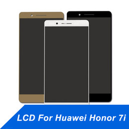 Cell Phone Display Repair Canada - Cell Phone Touch Panel for Huawei Honor 7i LCD Display Repair Touch Screen Digitizer Assembly Screen repair for Honor 7i free shipping
