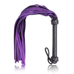 $enCountryForm.capitalKeyWord Australia - BDSM Whipping Spanking Genuine Leather Whip Supplier for Sex Play Bondage Gear Torture Body Stimulation Erotic toys for couples GN296500119