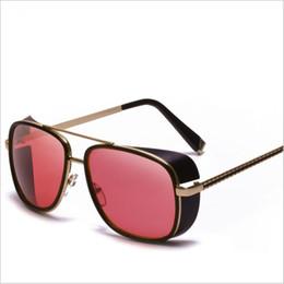 992a687f74 Male Steampunk Sunglasses Tony Stark Iron Man Matsuda Sunglasses Retro  Vintage Eyewear Steampunk Sun Glasses UV400 Oculos De Sol