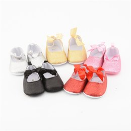 96431e526e2ff Baby Girl Shoes bling Bowknot Newborn Toddler Infant First Walkers For Kid  Shoe Dancing Anti-slip Soft Sole Bottom Princess