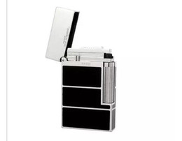 $enCountryForm.capitalKeyWord Canada - 100% New ST lighter Black and gold luxury box sound gas lighter French brand Fashion free shipping