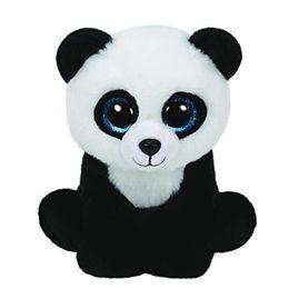 97f6447d6fb Wholesale- 15cm Ty Beanie Boos Big Eyes Cute Small Panda Stuffed Plush Toy