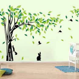 $enCountryForm.capitalKeyWord NZ - Large Tree Wall Sticker Living Room Removable PVC Wall Decals Family DIY Poster Wall Stickers Mural Art Home Decor