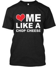 Black Cheese Australia - Love Me Like A Chop Cheese T - Cheees Hanes Tagless Tee T-Shirt