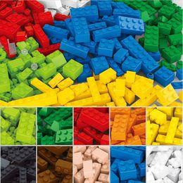 Sluban Blocks NZ - Wholesale-415 Pcs Building Blocks City DIY Creative Bricks Toys For Child Educational Sluban Building Block Bricks Compatible With