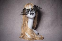 $enCountryForm.capitalKeyWord Australia - Metal black Masquerade Mask for Carnival Halloween Set auger Venetian mask Half Face Ball Party Masks Festive Party Supplies cosplay mask 12