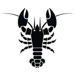 $enCountryForm.capitalKeyWord UK - Lobster Fish Fishing Boy Car Sticker Vinyl Car Packaging Auto Parts Personality