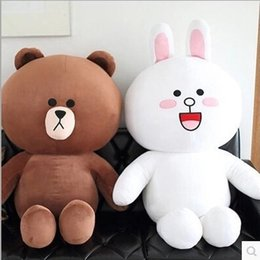rilakkuma gifts 2019 - 35cm San-x Rilakkuma Relax Bear Lovely Stuffed Toys Cute Soft Pillow Plush Toy Doll Girlfriend a birthday present kids t
