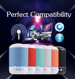 new bluetooth mini speaker 2019 - TG115 New Wireless Bluetooth Speakers Outdoor Portable bluetooth speaker High Quality Support TF card FM AM Radio Mini S