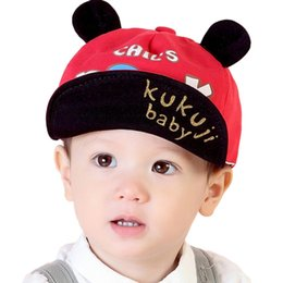 a789cbba737 Boys Girls Children Baseball Caps Child Adjustable Cartoon Hat Sun  Protection Fashion Letter Cute Holiday Travel Hat Age 2-5