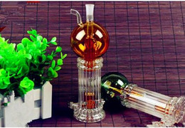 $enCountryForm.capitalKeyWord Australia - On The Double Layer Core Ball Two Water Bottles ,Wholesale Bongs Oil Burner Pipes Water Pipes Glass Pipe Oil Rigs Smoking Free Shipping