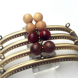 purse frame 10pcs Lot 20.5cm Metal Frame Purs Clasp Handles for Coin Purses  Clutch Handbag Accessories Making Kiss Clasp Lock Bronze Bags 47db5f344858