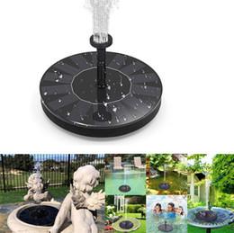 Vente en gros Pompe à eau debout libre de pompe d'oiseau de pompe solaire de fontaine, kit flottant extérieur solaire de pompe de fontaine de 1,4W, pour le jardin, piscine