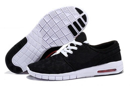 China 2017 Cheap Men Women Fashion SB Stefan Janoski Running Shoes Black Grey Athletic Walking Sports Shoes Sneakers Shoes Size 36-45 supplier cheap stefan janoski suppliers