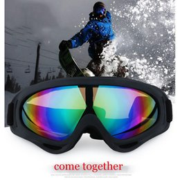 eee6ad8dd866 Ski Goggles Outdoor Sports Windscreen X400 Glasses Single Layer Snow Mirror Motorcycle  Goggles Adult Shoes For Men And Women H-5
