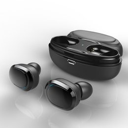 Chinese  Latest T12 TWS Bluetooth Earphone Mini Bluetooth V4.1 Headset Double Wireless Earbuds Cordless Headphones manufacturers