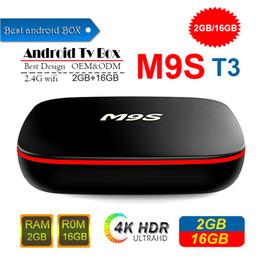 $enCountryForm.capitalKeyWord Australia - 2019 Cheapest M9S T3 Android 7.1 Tv Box Quad Core 1GB 8GB 2GB 16GB Support 2.4G Wifi 4K 3D Media Player Smart Tv Box Better X96 MINI T95Z