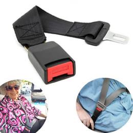$enCountryForm.capitalKeyWord NZ - Universal 36cm Car Seat Belts Safety Belt Webbing Extender Auto Seatbelt Extension Buckle Seat Belts Padding Extender