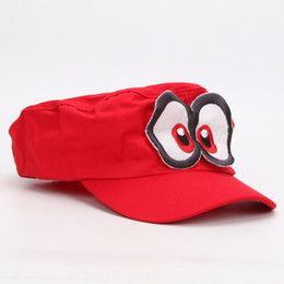 Super Mario Hat Red Odyssey Wearable Baseball Caps Unisex Drop Shipping Costume Props Costumes & Accessories